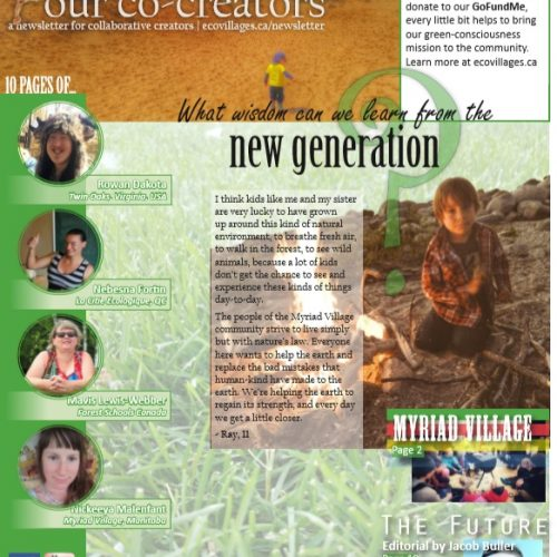 Cover of Issue No. 3 of Our Co-Creators, Children